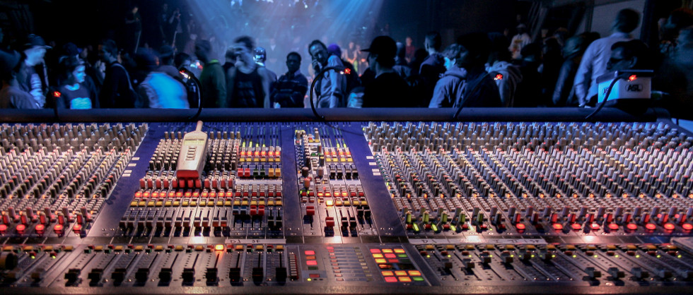 My view form FOH at the Melkweg (Spin Off 2013)
